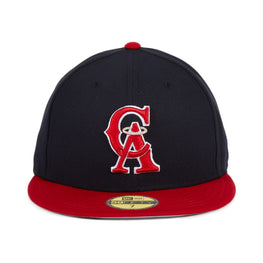 Exclusive New Era Los Angeles Angels 1993 Hat - 2T Navy, Red