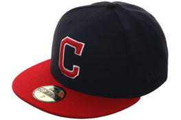 Exclusive New Era Cleveland Indians 1985 Hat - 2T Navy, Red