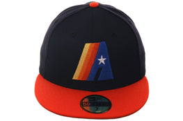 Exclusive New Era Houston Astros Concept Hat - 2T Navy, Orange