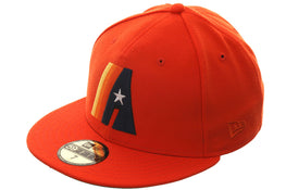Exclusive New Era 59Fifty Houston Astros Concept Hat - Orange