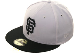 Exclusive New Era 59Fifty Turn Ahead The Clock San Francisco Giants Hat - 2T White, Black