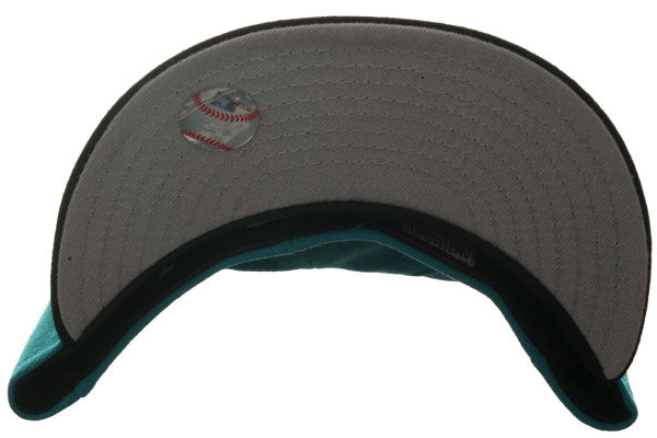Exclusive New Era 59Fifty Arizona Diamondbacks Hat - 2T Teal, Black
