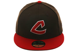Exclusive New Era Cleveland Indians 1973 Hat - 2T Brown, Red