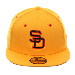 Exclusive New Era 59Fifty San Diego Padres 1980 Hat - Gold