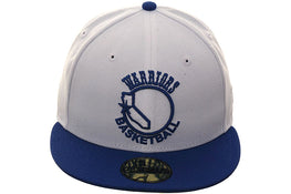 Exclusive New Era Golden State Warriors 1984 Hat - 2T White, Royal