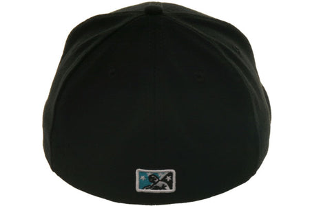 Exclusive New Era 59Fifty Brevard County Manatees Hat - Black