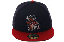Exclusive New Era 59Fifty Asheville Tourists 1994 Hat - 2T Navy, Red