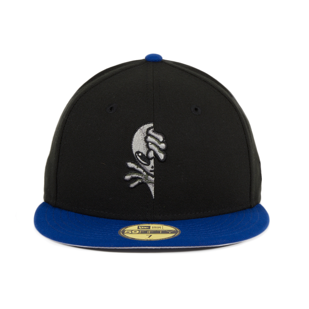 Exclusive New Era 59Fifty Las Vegas Area 51 Peek - 2T Black, Royal