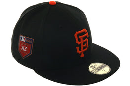 Exclusive New Era 59Fifty San Francisco Giants 2018 Spring Training Patch Hat - Black