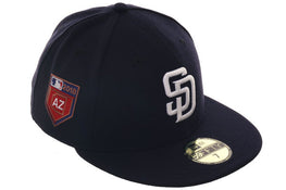Exclusive New Era 59Fifty San Diego Padres 2018 Spring Training Patch Hat - Navy