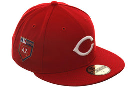 Exclusive New Era 59Fifty Cincinnati Reds 2018 Spring Training Patch Hat - Red
