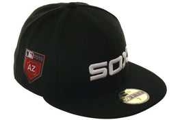 Exclusive New Era 59Fifty White Sox 2018 Spring Training Patch Hat - Black