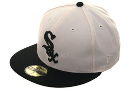 Exclusive New Era White Sox Hat - 2T White, Black