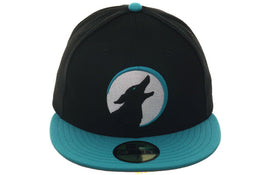 Exclusive New Era 59Fifty Glendale Desert Dogs Hat - 2T Black, Teal