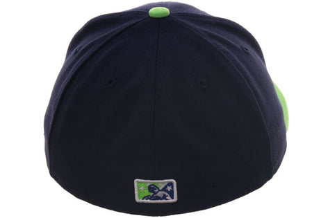 Exclusive New Era 59Fifty Vermont Expos Hat - 2T Light Navy, Light Green