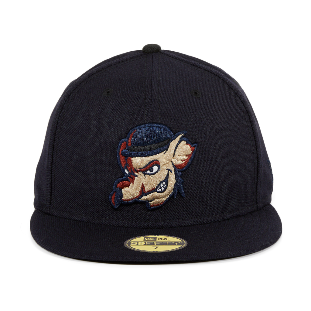 New Era 59Fifty Thrill SF Barbary Coast Vigilantes Fitted Hat - Navy
