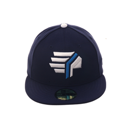 Exclusive New Era 59Fifty Syracuse Chiefs 1987 Hat - Light Navy
