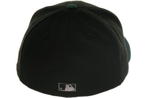 Exclusive New Era 2005 Devil Rays Hat - 2T Black, Green