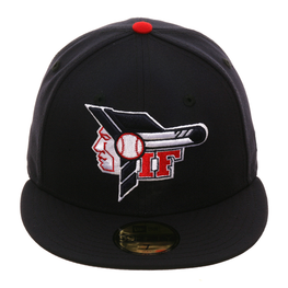 Exclusive New Era 59Fifty Idaho Falls Braves Hat - Navy