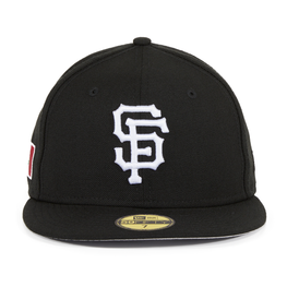 Exclusive New Era 59Fifty San Francisco Giants Mexico Flag Hat - Black , White