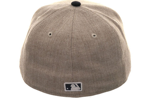 Exclusive New Era 59Fifty Arizona Diamondbacks Hat - 2T Oatmeal, Navy