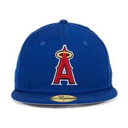 Exclusive New Era 59Fifty Los Angeles Angels Hat  - Royal