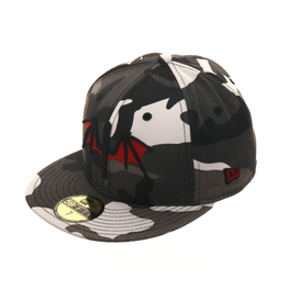 Dionic New Era 59Fifty Bats Hat - Urban Camouflage