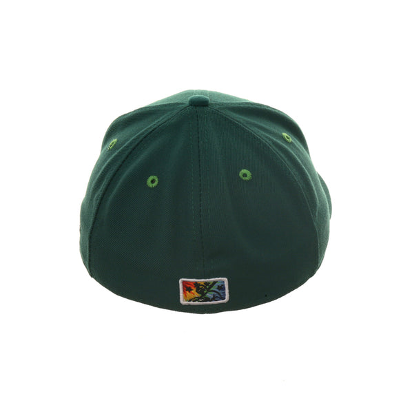 Exclusive New Era 59Fifty Eugene Emeralds Tiedye Hat - Green