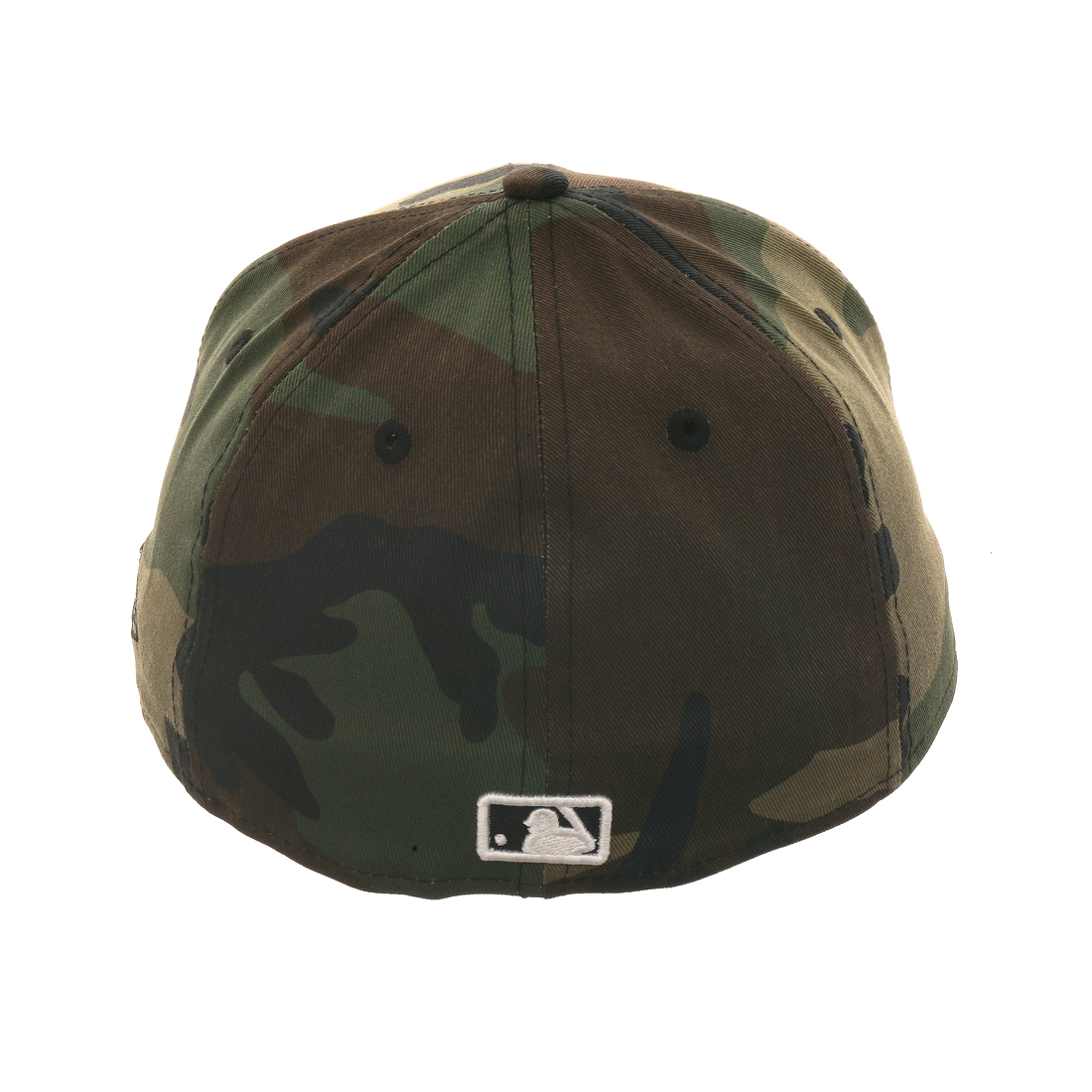 Exclusive New Era 59Fifty Los Angeles Dodgers Metal Matte Badge Hat - Camouflage , Black