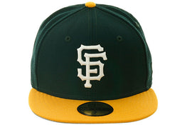 Exclusive New Era San Francisco Giants Hat - 2T Green, Gold, White