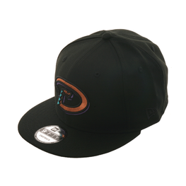 New Era 9Fifty Arizona Diamondbacks Snapback Hat - Black, Metallic Copper