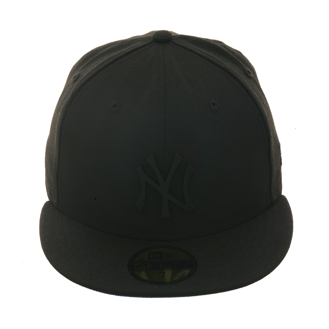 Exclusive New Era 59Fifty New York Yankees Matte Metal  w/ blue undervisor Hat - Black, Black