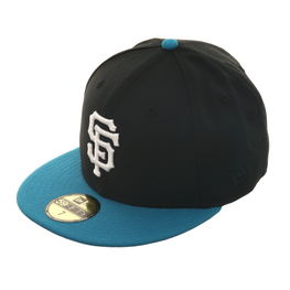 Exclusive New Era San Francisco Giants Hat - 2T Black, Teal