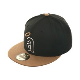 Exclusive New Era Los Angeles Angels 1972 Hat - 2T Black, Khaki