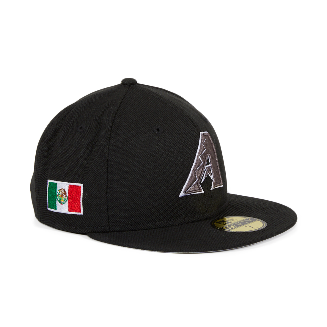Exclusive New Era 59Fifty Diamondbacks Mexico Flag Hat -Black ... b72c83fa95fa