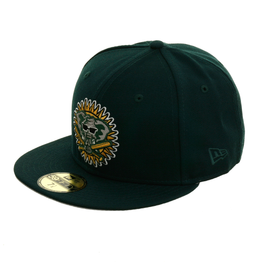 New Era 59Fifty Oakland Athletics 1994 Hat - Green, Gold
