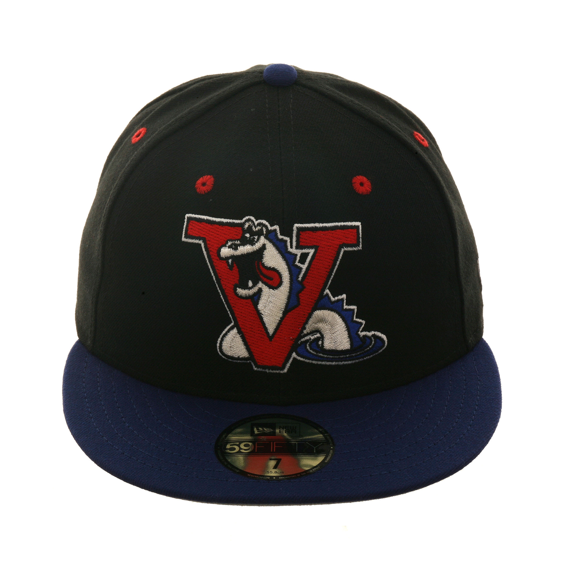 Exclusive New Era 59Fifty Vermont Expos Hat - 2T Black, Royal,
