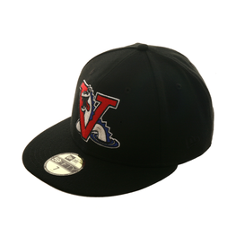 Exclusive New Era 59Fifty Vermont Expos Game Hat - Black
