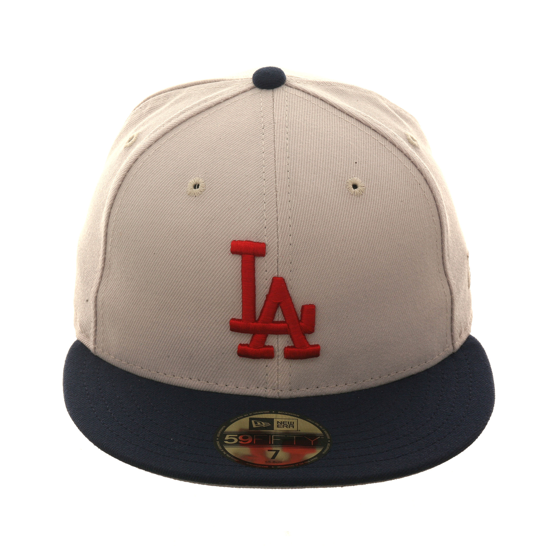 Exclusive New Era 59Fifty Los Angeles Dodgers Hat - 2T Stone a7a80004674