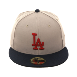 009139aed Exclusive New Era 59Fifty Los Angeles Dodgers Hat - 2T Stone
