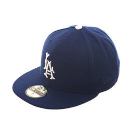 Exclusive New Era 59Fifty Los Angeles Angels LA Hat - Royal , White