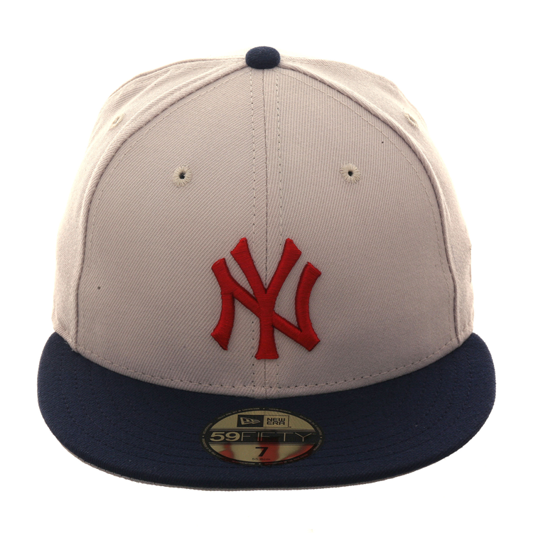 Exclusive New Era 59Fifty New York Yankees Hat - 2T Stone e5818a05b2c