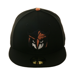 New Era 59Fifty Thrill SF Knight Owls Fitted Hat - Black, Metallic Copper