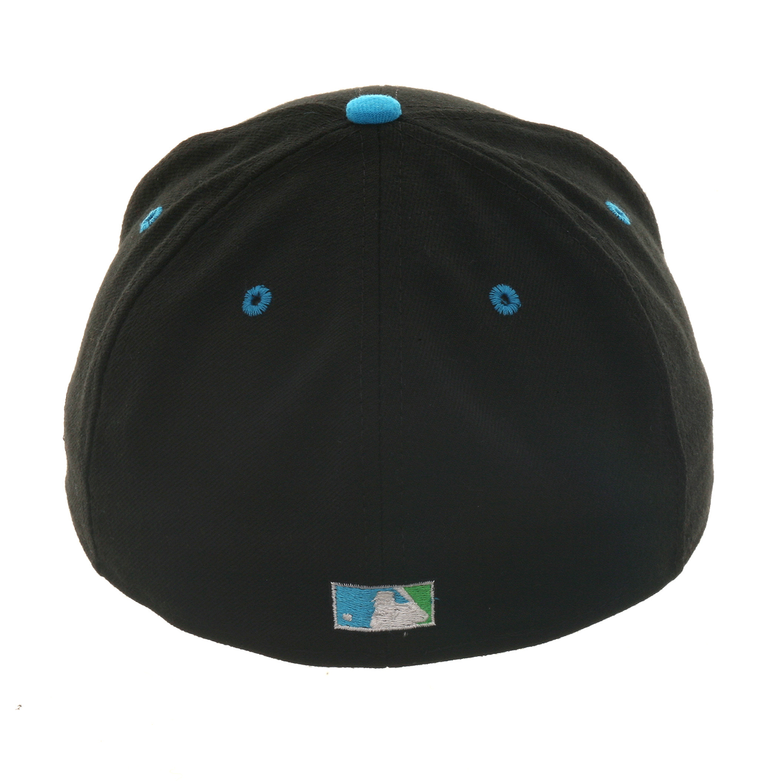 Exclusive New Era 59Fifty Tampa Bay Devil Rays Hat - 2T Black, Light Blue