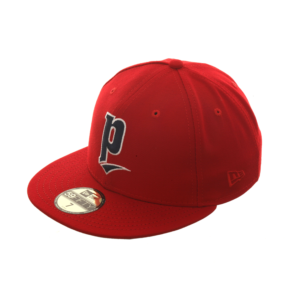 Exclusive New Era 59Fifty 1991 Portland Beavers Hat - Red, Navy, White
