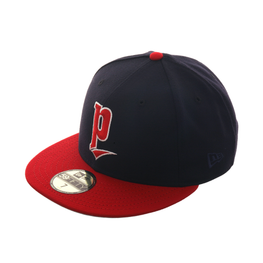 Exclusive New Era Portland Beavers 1991 Hat - 2T Navy, Red