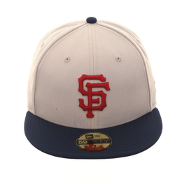 Exclusive New Era San Francisco Giants Hat - 2T Stone, Navy