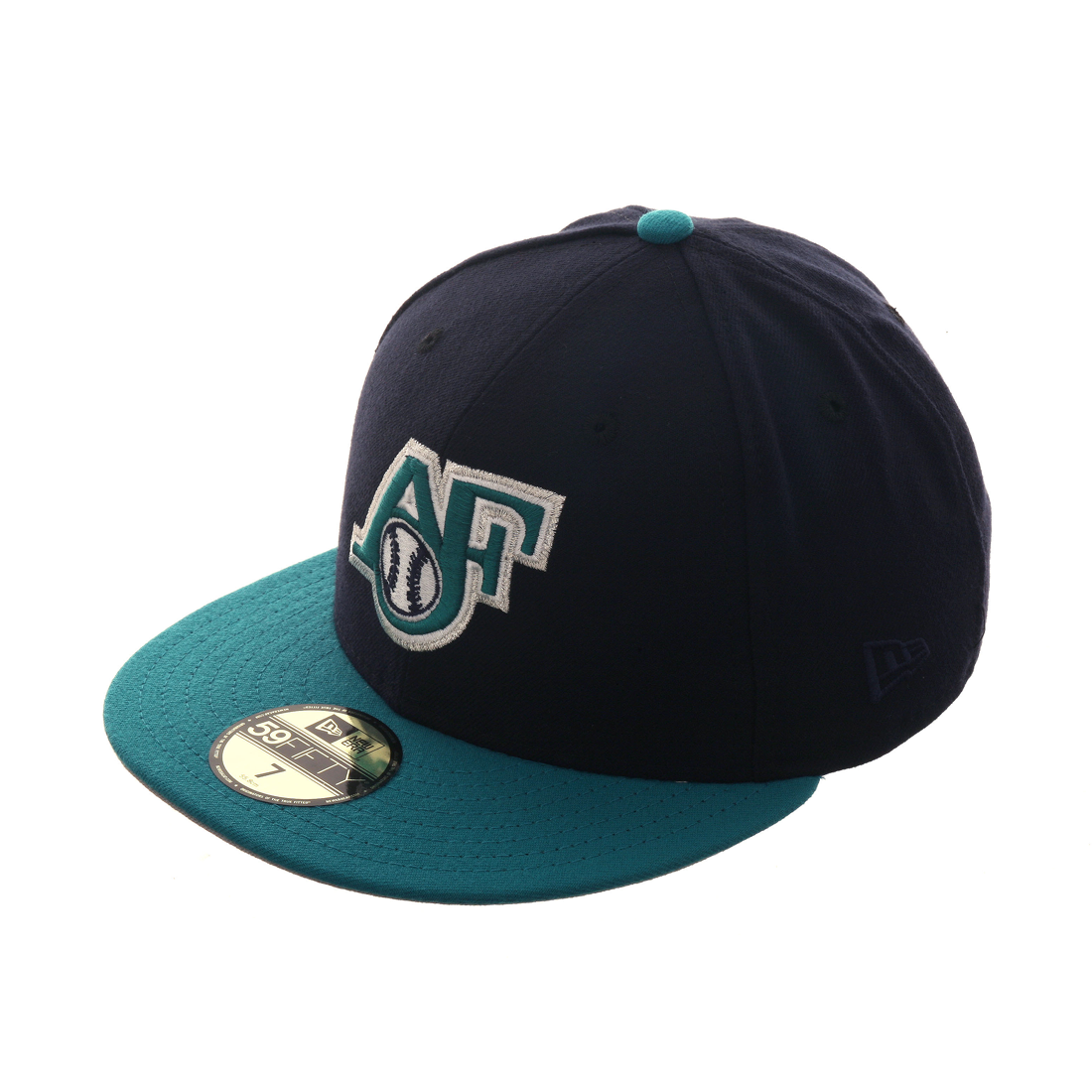 Exclusive New Era 59Fifty Appleton Foxes Hat - 2T Navy, Teal