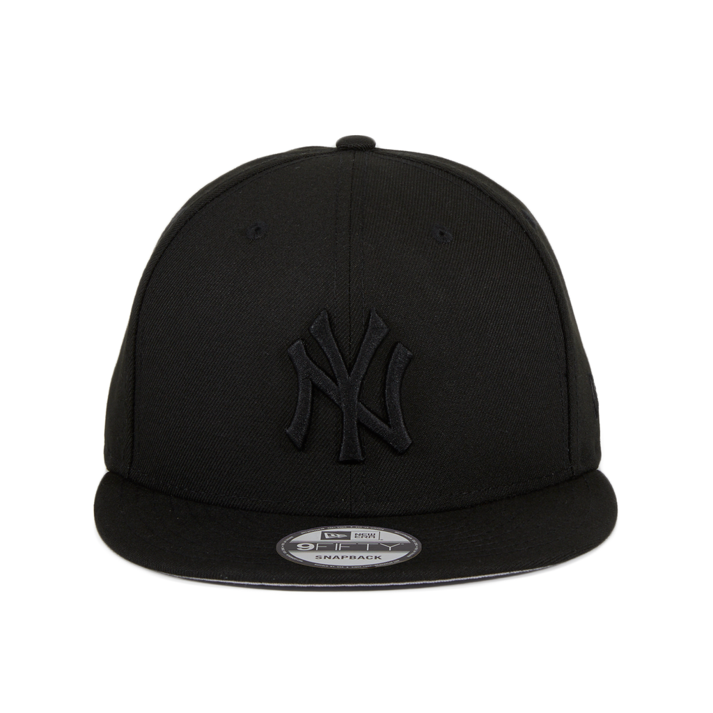 New Era 9Fifty New York Yankees Snapback Hat - Black, Black