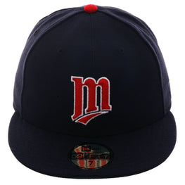 Exclusive New Era 59Fifty Minnesota Twins 1987 Hat - Navy